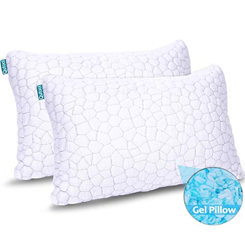 2-Pack Cooling Bed Pillows for Sleeping