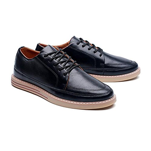 XUEQIN Tendance Chaussures pour hommes Jeunesse Loisirs Chaussures en cuir ( Couleur : 2 , taille : EU39/UK6.5/CN40 ) 1