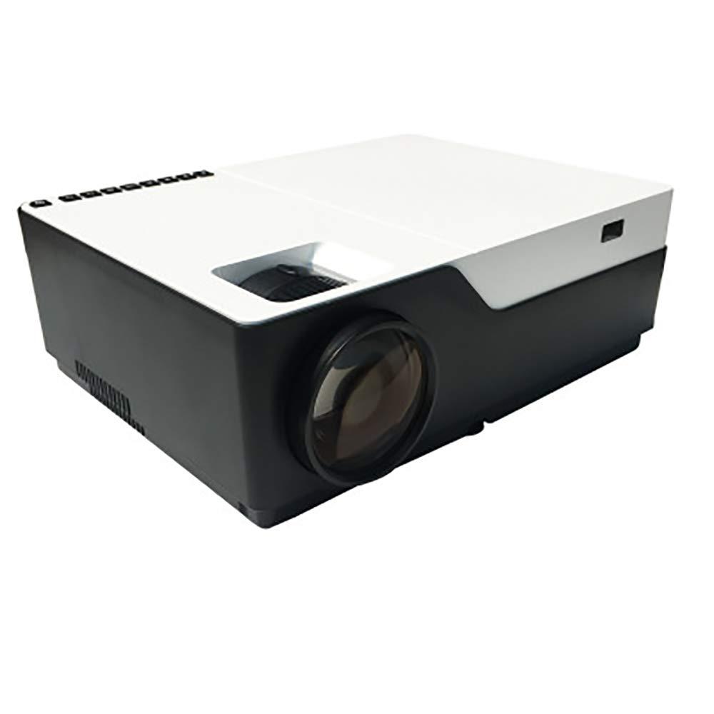 ビデオプロジェクター、フルHD LEDプロジェクター、PS4、HDMI、VGA、AV、USBと互換性のある屋内/屋外用50,000時間ホームムービープロジェクター,Smart B07RTXF79R Smart