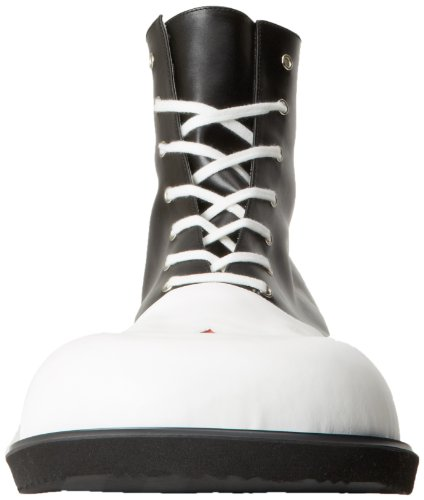 Funtasma Clown-Schuh CLOWN-02 - Schwarz/Weiß one size EU