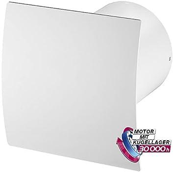 Lüfter Badezimmer Feuchtigkeitssensor   Bad Lufter Wand Ventilator O 100 Feuchtesensor Timer Escudo Silent