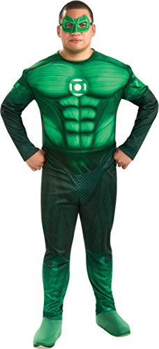 Rubies Mens Green Lantern Movie Hal Jordan Theme Party Fancy Costume, Plus (44-50) by Rubie's