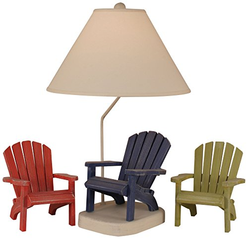 Coast Lamp Morning Jewel/Cottage Adirondack Chair Table ()