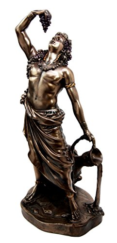 - Ebros Greek Olympian God Bacchus Dionysus Decorative Figurine 11.5