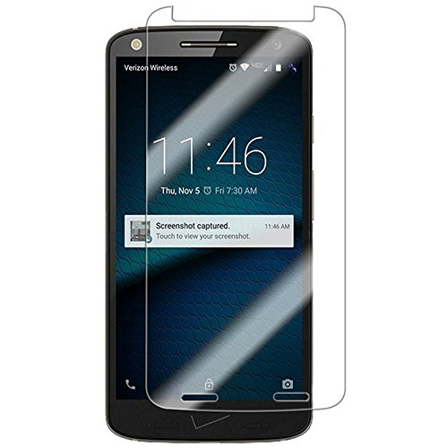 [2 Packs] Moto X Force Screen Protector, Motorola Droid Turbo 2 Tempered Glass Clear Screen Protector, Scratch-resistant Screen Guard for 5.4'' Motorola Droid Turbo 2, Motorola Moto X Force