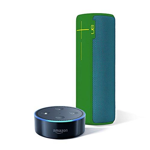 Logitech UE BOOM 2 Green Machine Wireless Mobile Bluetoot...