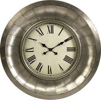 Benzara imx-68034 Stunning Mesickアルミ時計by Benzara   B017S50LNK
