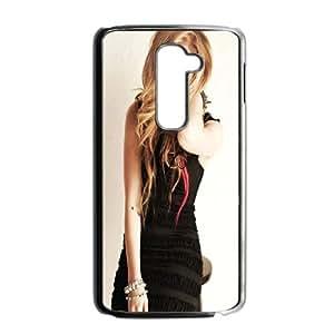 LG G2 Cell Phone Case Black Avril Lavigne D8F3JW