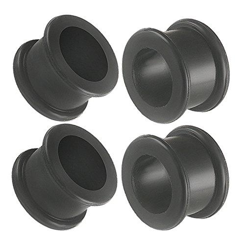 bodyjewellery 5/8 Gauge 16mm Black Implant Grade sili Double Flare Tunnels Ear Plugs SI01 Wholesale Lot Berg Ear Stretching Piercing 4Pcs