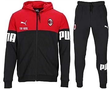 Maestri del Fútbol Chándal Rojo niño Oficial A.C. Milan 19/20 ...