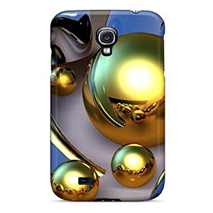 Snap-on Floating 3d Case Cover Skin Compatible With Galaxy S4 by heywan