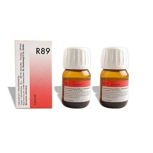 2 LOT X Dr. Reckeweg - Homeopathic Medicine - R89 - Hair Care Drops