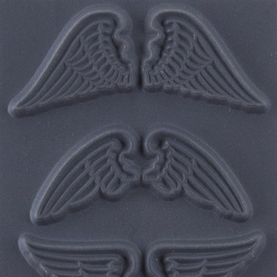 """Cool Tools - Flexible Texture Tile - Natural Wings - 4"""" X 2"""""""