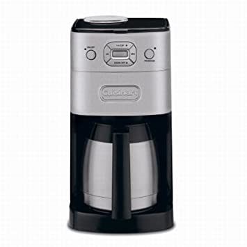 Amazon.com: Cuisinart dgb-650 Grind & Brew 10-cup térmico ...