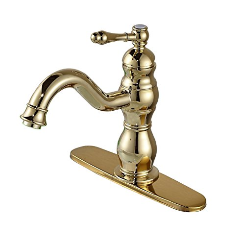 Polished Brass Basin Faucet - 4