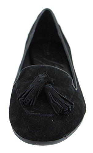 B.O.C Kary, Gleit Sandalen Frauen, rechtwinklige Spitze, Leder Black