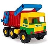 Wader-Wozniak 32051 - Kipper Middle Dumper Truck, 3-Achse, 38 cm, farblich sortiert, Farbe nicht wählbar