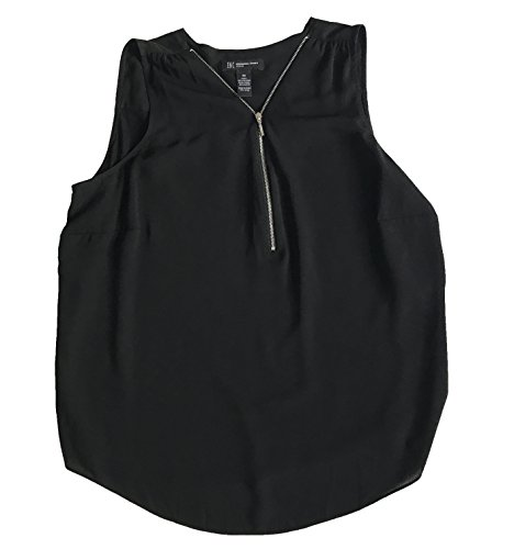 Inc International Concepts Plus Size Zip-Front Sleeveless High-Low Blouse - Mall In Hilo