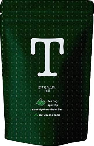 恋する 八女茶 煎茶 ティーバッグ アイスでもホットでも テトラ ティーバッグ JAふくおか 八女