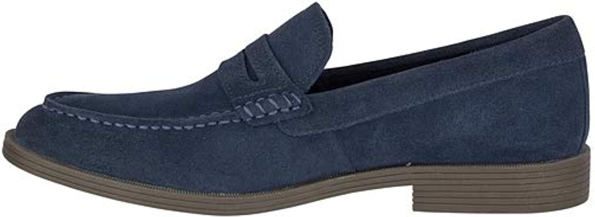 Choose SZ//color Details about  /Sperry Men/'s Manchester Suede Penny Loafer