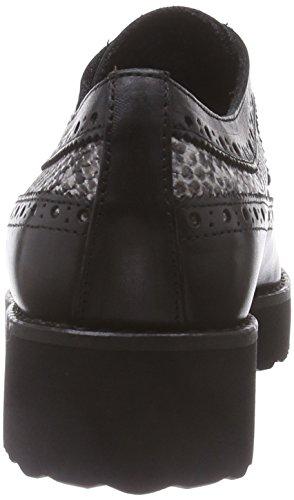 Marc ShoesRomy - Zapatos de Vestir Mujer Negro - Schwarz (black-combi 101)