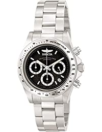 Men's 9223 Speedway Collection S Series Stainless Steel Watch with Link Bracelet