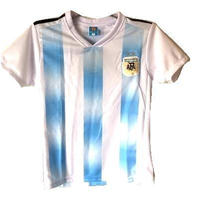ズボン飽和する知覚できる?クリックポスト?子供用 K032 アルゼンチン 19 ゲームシャツ パンツ付