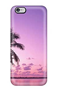 Anti-scratch LastMemory Protective Beach Palms Case For Ipod Touch 5 Cover