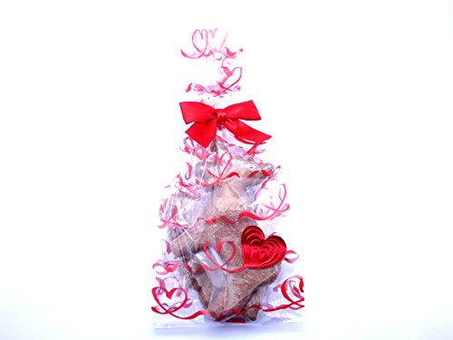 Valentine's Day Dog Gift Treat Bag - Made in USA - Gift Packaged