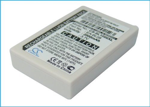 Pda Battery Pack - 2000mAh Li-ion PDA Battery For Sharp Zaurus SL-C1000, Zaurus SL-C3000, Zaurus SL-C3100