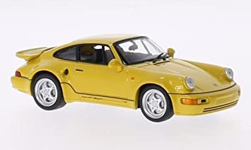 Porsche 911 (964) Turbo S 3.3 Leichtbau, yellow, 1992, Model Car