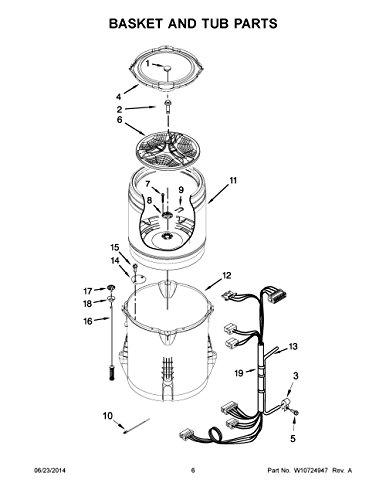 (Maytag W11027174 Washer Suspension Rod Kit Genuine Original Equipment Manufacturer (OEM) Part for Maytag, Kenmore, Whirlpool)