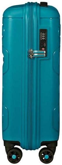 55 cm Navy 35 liters Bleu American Tourister Sunside Spinner 55//20 Bagage cabine