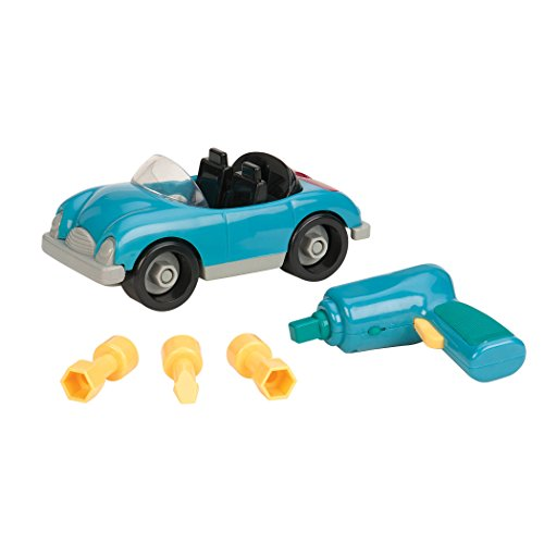 Battat Take-A-Part Toy Vehicles Roadster Sky Blue
