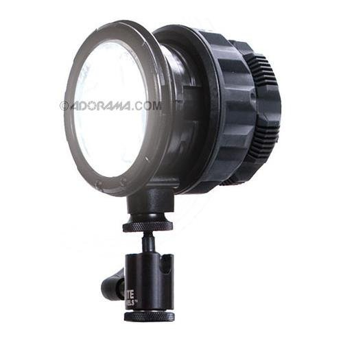 Litepanels SolaENG 3'' Fresnel Led on Camera Light with Standard ''Hotshoe'' Mount and Integrated 2Pin DTap, 70 - 10 Beam Control, Daylight Balanced by Lite Panels