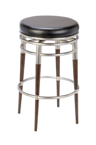 Amazoncom Hillsdale Salem 30 Inch Backless Swivel Bar Stool