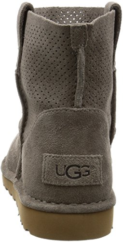 Ugg CLASSIC UNLINED MINI PERF 2017 creme, Grey, 40