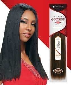 "Select Goddess INDIAN REMI Hair, 14"" Color #1B"