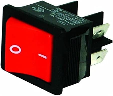 On Off Red Rocker Switch for NUMATIC HENRY HVR200 JAMES EDWARD GEORGE Vacuum