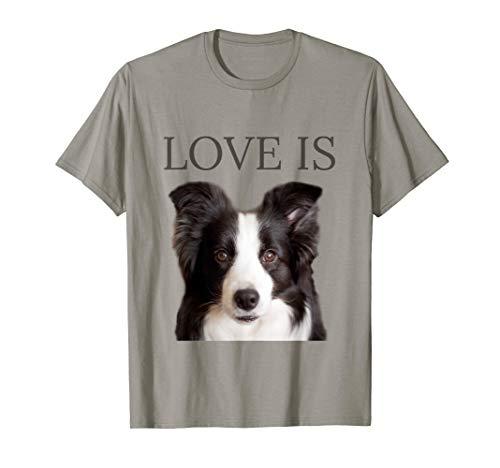 - Border Collie Shirt Women Men Kids Love Dog Mom Dad Gift Tee