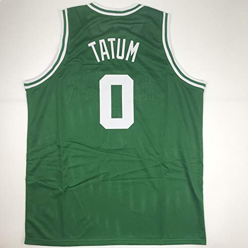 - Unsigned Jayson Tatum Boston Green Custom Stitched Basketball Jersey Size Men's XL New No Brands/Logos