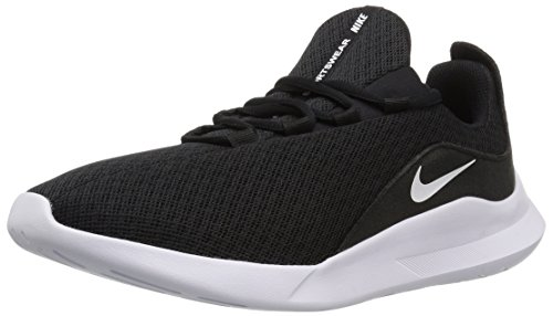NIKE Women's Viale Running Shoe, Black/White, 12 Regular US by NIKE