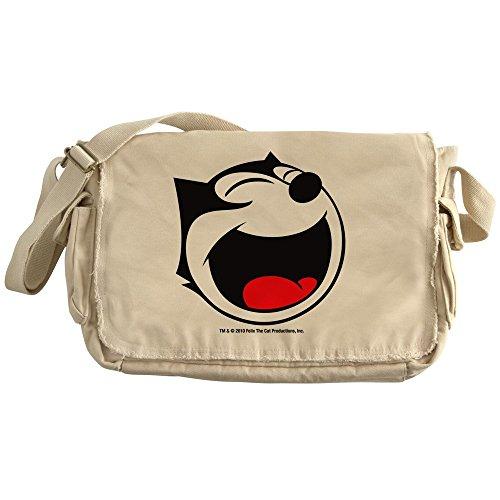 CafePress - Face4 - Unique Messenger Bag, Canvas Courier Bag by CafePress