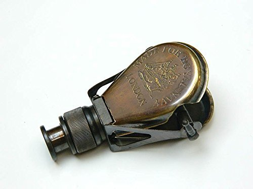 Spyglass Monocular Made for Royal Navy- London Antiqued Brass h