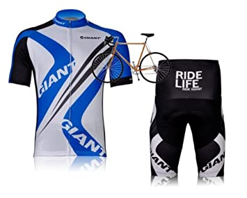 2ad1ee9ab New Design Mens Cycling Wear Suit GIANT Cycling Jersey Set Short-Sleeved  Fast Drying With