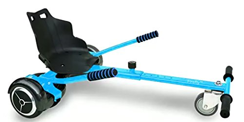 The Original Hovercart – easily turns your electric hoverboard into a cool fast go kart – easy high speed steering – industrial grade wheel - BONUS - Complimentary hoverbag for your hoverboard