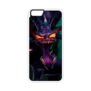 iPhone 6 Plus 5.5 Inch Cell Phone Case White League of Legends Nightmare Cho'Gath VB6992513