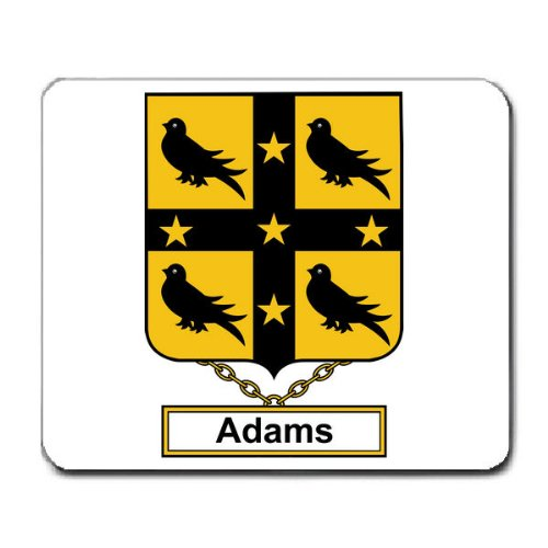 Adams Family Crest Coat of Arms Mouse (Adams Arm Pads)