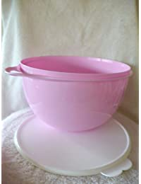 Want Tupperware Pink Thatsa Bowl 32 Cup Mixing Bowl online