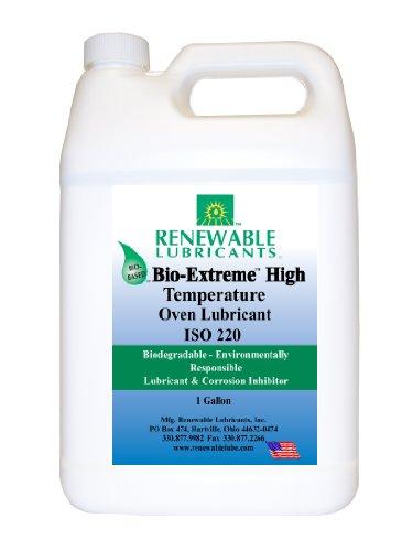 Renewable Lubricants Bio-Extreme ISO 220 High Temperature Oven Lubricant, 1 Gallon Jug